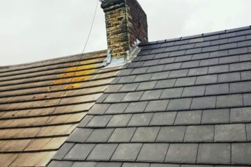 Gutter Replacement around Slaithwaite